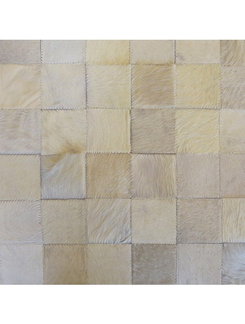 Tapete de Couro Off White 2,00 x 2,50m