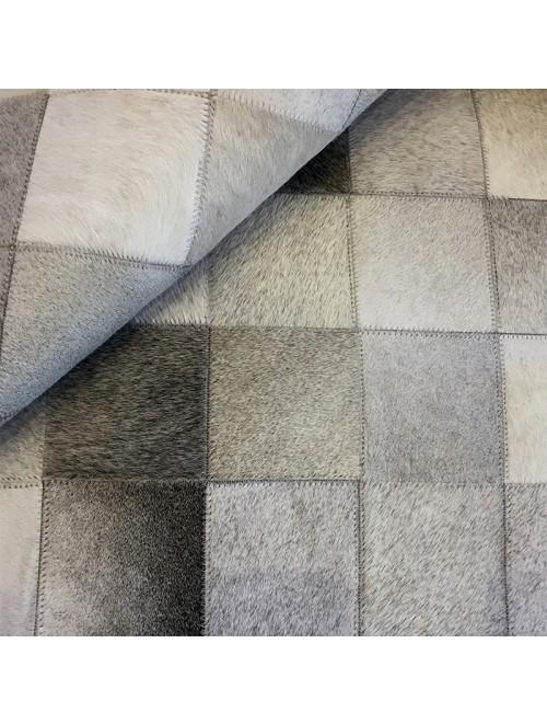 Tapete de Couro Cinza 2,20 x 2,50m