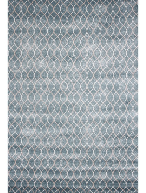 Tapete Happy Des/05 Azul 0,80 x 1,20m