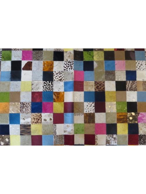 Tapete de Couro Mix Colorido 2,50 x 3,50m