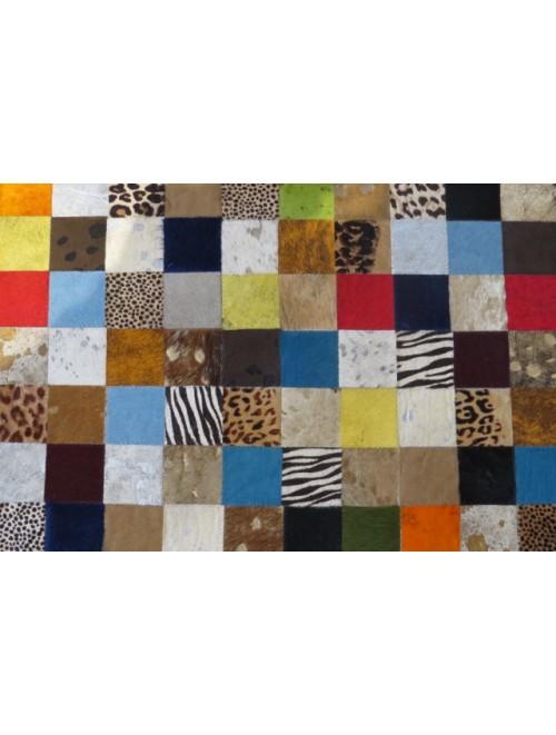 Tapete de Couro Mix Colorido 2,00 x 3,00m