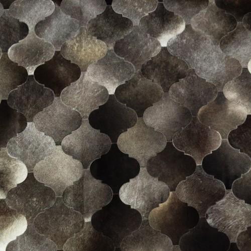 Tapete de Couro Neva Cinza 1,80 x 2,40m