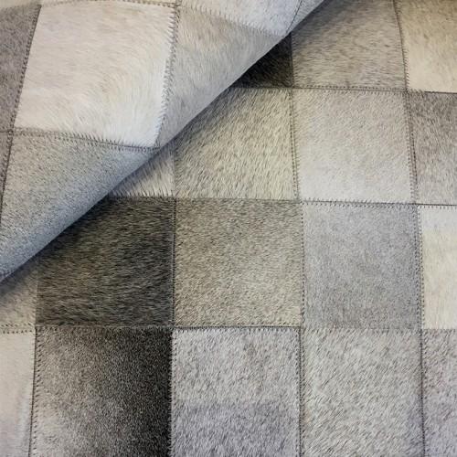 Tapete de Couro Cinza 2,50 x 3,50m