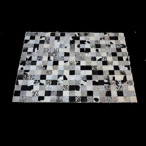Tapete de Couro Cores Neutras 1,50 x 2,00m
