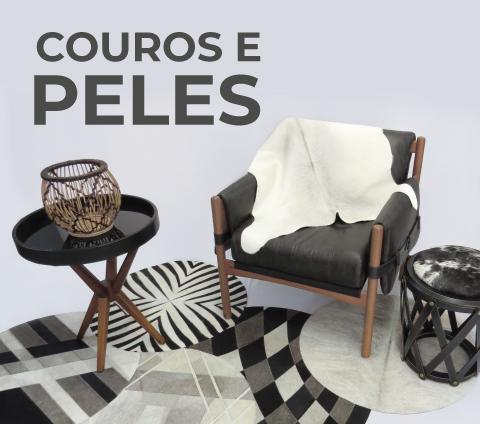 Couros e peles | Naturale Tapetes