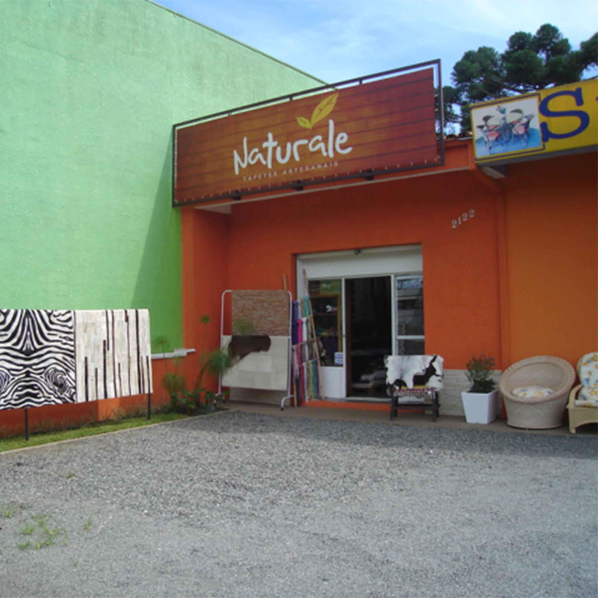 Primeira loja da Naturale com 35m²